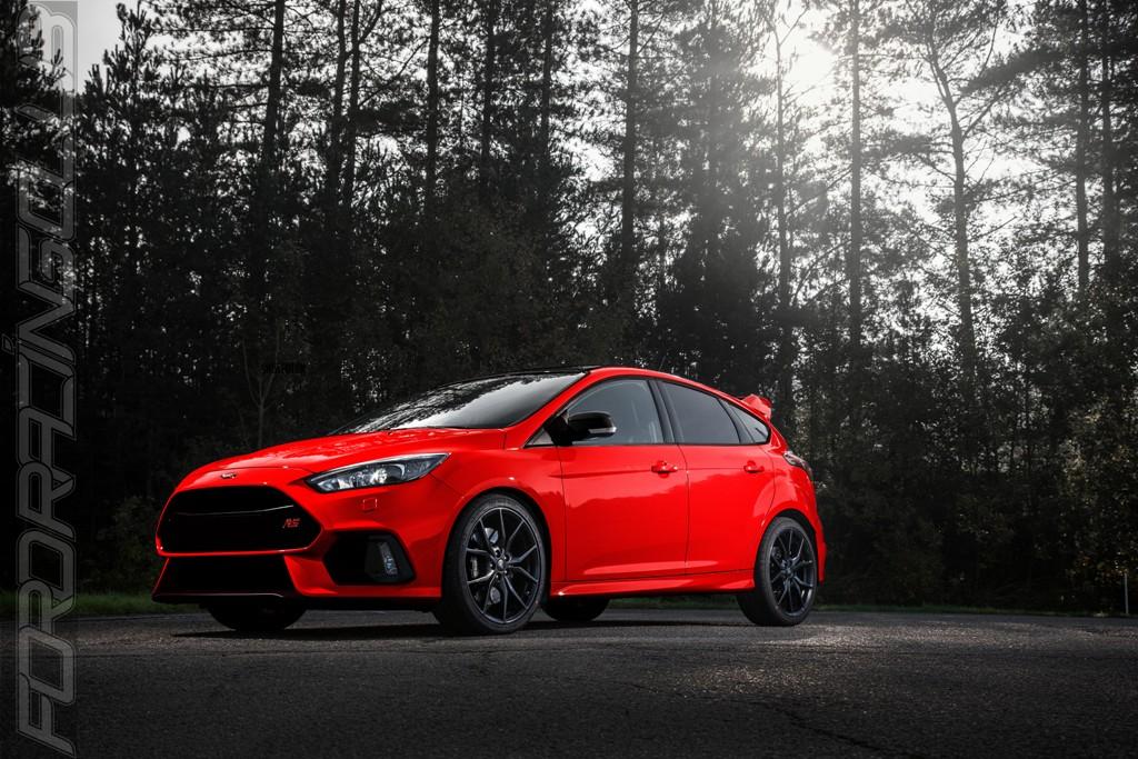ford racing club la focus rs vire au rouge